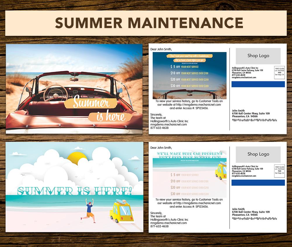 summer maintenance